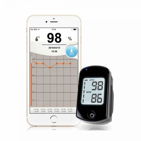 IVC Diagnostics_Fingertip Pulse Oximeter TD-8255B (Bluetooth)3