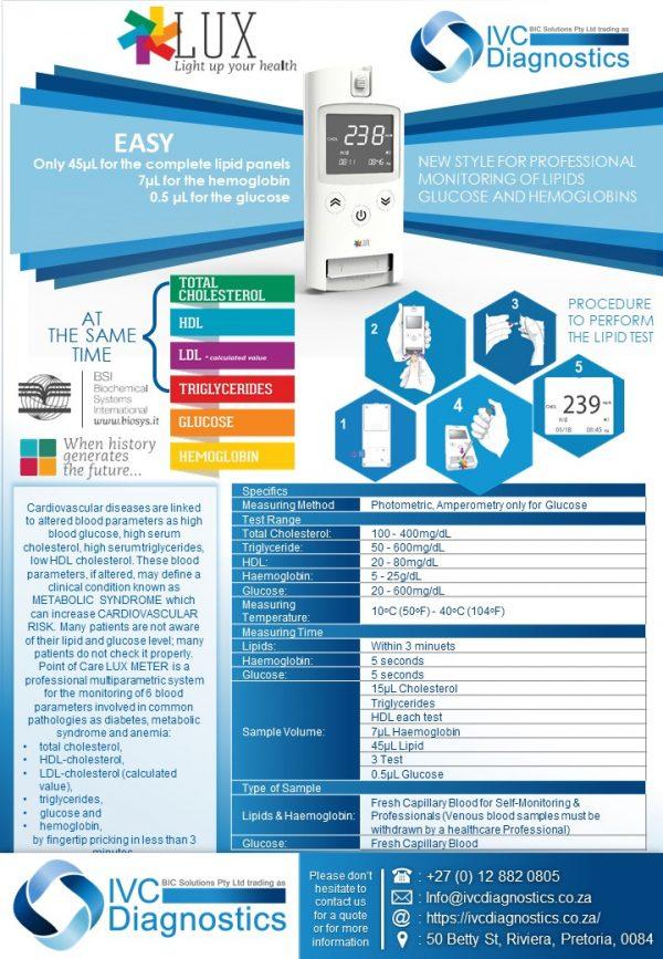 Lux Lipid Meter_Spec sheet