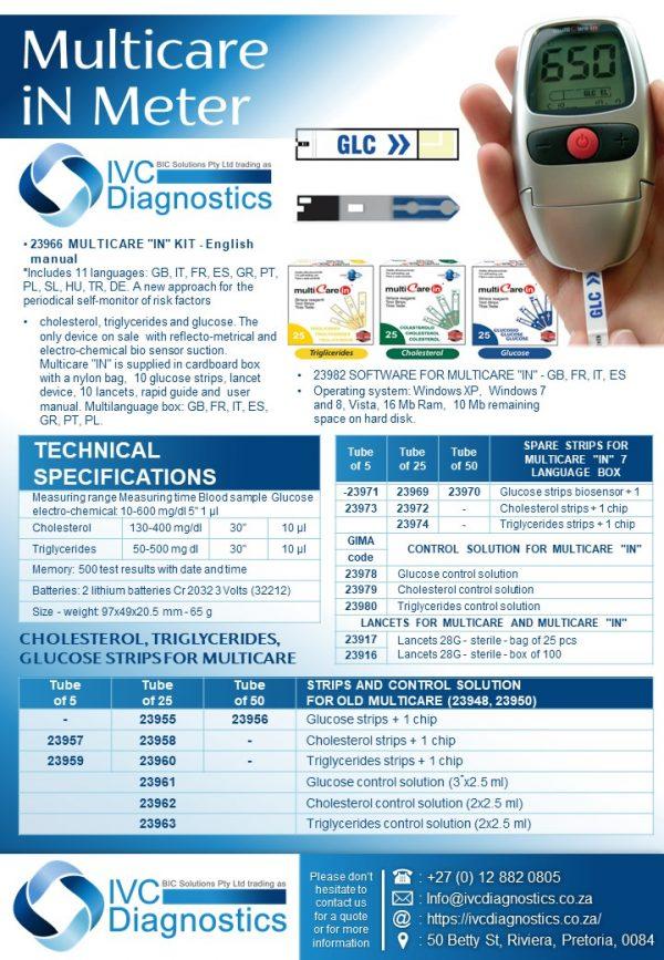 Multicare iN Meter_Spec sheet
